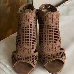Vince Camuto Emmbell heather rose cone heel sandal